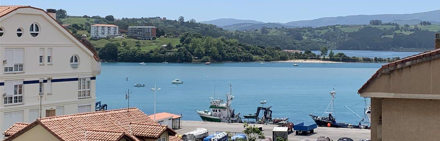 Venta piso de 2 dormitorios con vistas al mar en San Vicente de la Barquera